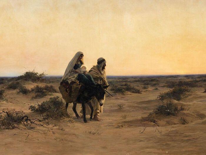 Автор рисунка: Eugène Girardet