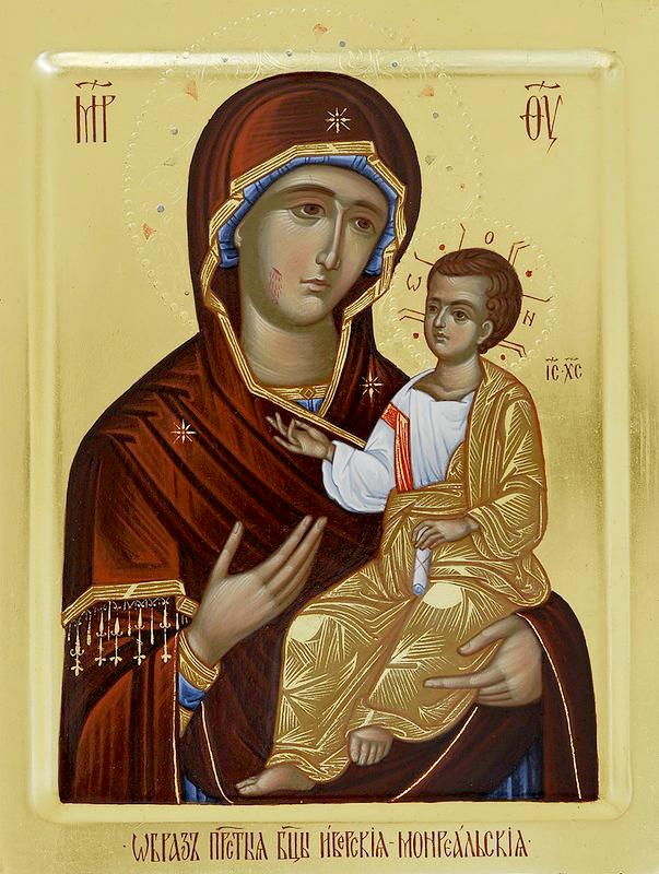 Икона Божией Матери «Иверская - Монреальская»