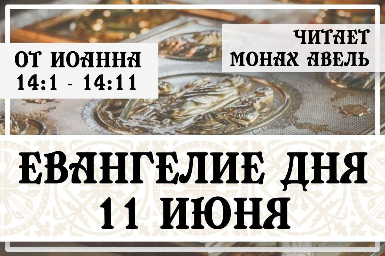 Евангелие дня / 11 июня 2021 / Ин.14:1 - 14:11