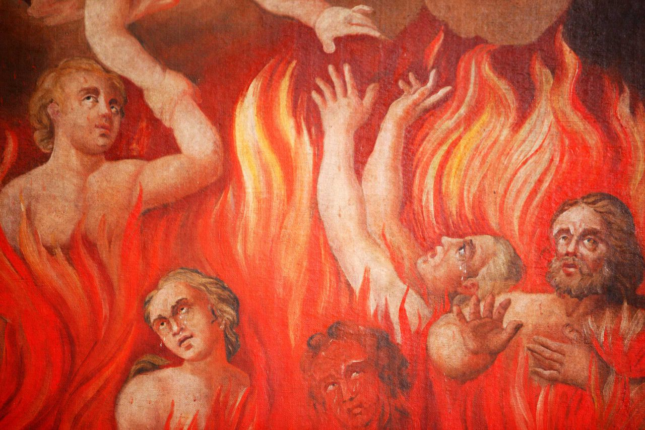 thesis hell Thesis statement 1 in inferno from the divine comedy, dante alighieri uses dark symbolism, mystifying allusions, and disturbing imagery to exploit the idea that you must explore hardship to achieve redemption, proving that through me you enter the population of loss.