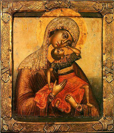 Икона Божией Матери «Взыграние» (Угрешская)