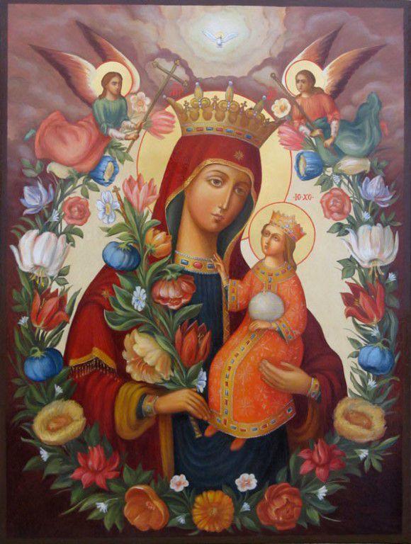 Икона Божией Матери «Благоуханный Цвет»