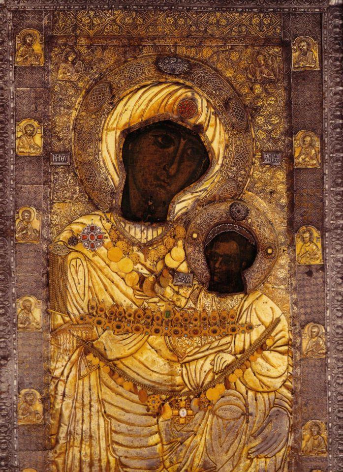 """Молитвы к Пресвятой Богородице перед Ея иконой, именуемой """"Иверская"""""""