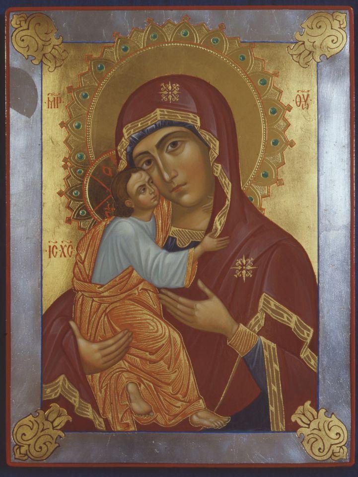 """Молитва Божией Матери перед Ея иконой, именуемой """"Умиление"""" Псково-Печерская"""