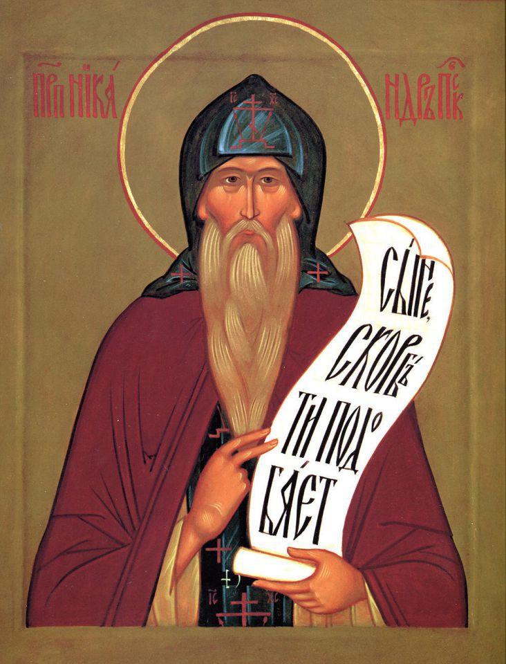 Преподобный Никандр Псковский