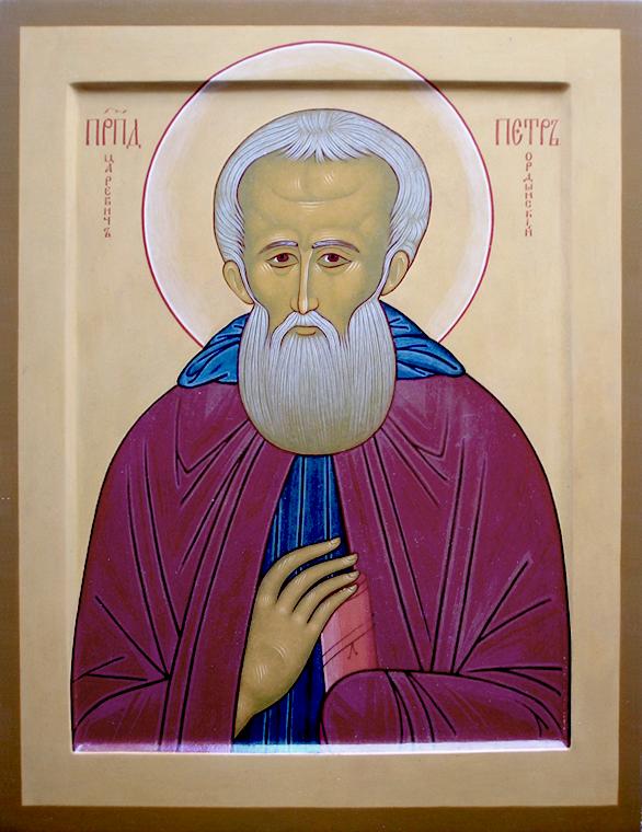 Преподобный Петр, Царевич Ростовский