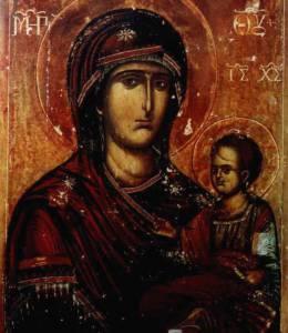 Икона Божией Матери «Попская» (Иерейская)