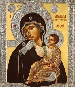 Икона Божией Матери «Отрада» или «Утешение» (Парамифия)