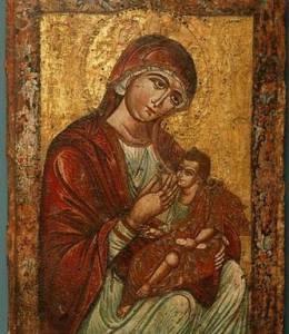 """Молитвы Пресвятой Богородице перед иконой Ея """"Млекопитательница"""""""