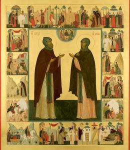 Молитва преподобным Кириллу и Марии, родителям Сергия Радонежского